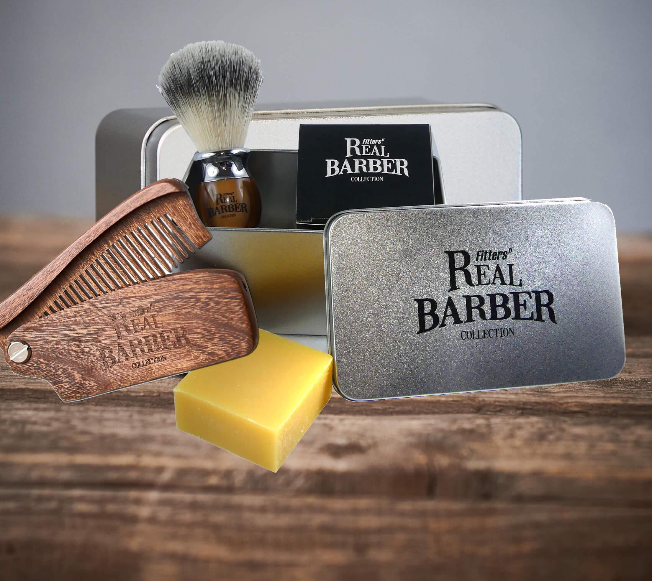 Bartpflege Set Rasierpinsel