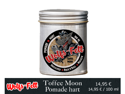 Wolfs Fett Toffee Moon Pomade